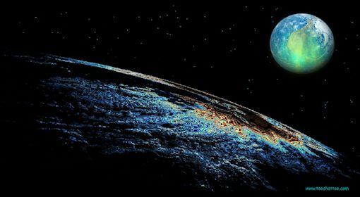 Ecran de veille gratuit cosmos planetes systeme solaire for Photo ecran veille gratuit