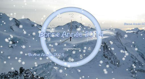 Image anime nouvelle annee 2014 party invitations ideas for Fond ecran bonne annee